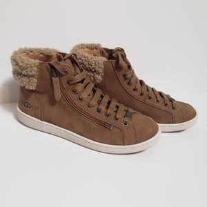 Lace Up UGG Sneaker/Boots